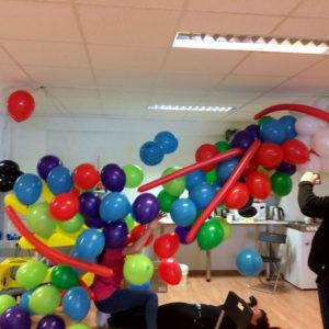 Ballongdropp