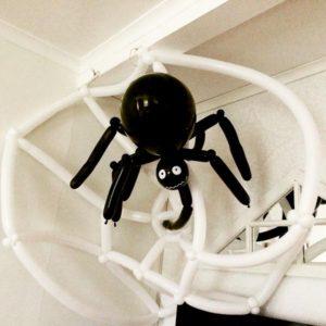 Halloween-spindel