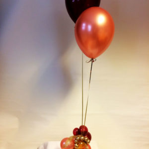 Glittriga ballonger
